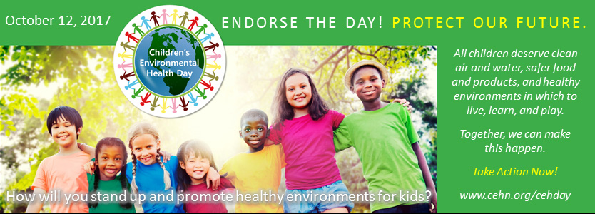 Children's Environmental Health Day, October 12, 2017